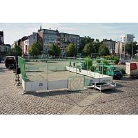 Mobiler Streetsoccer-Court