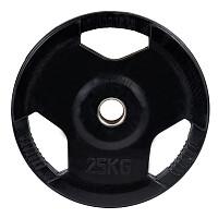 Sport-Thieme® Gummierte Wettkampf-Hantelscheiben 50 mm