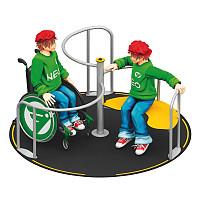 Playparc Rollstuhlkarussell