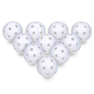 10er Set Floorball-Bälle