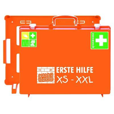Söhngen® Erste-Hilfe-Koffer Schule XS-XXL mit Wandhalterung