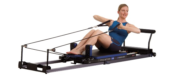 Balanced Body Pilates IQ-Reformer Horizontale Räder