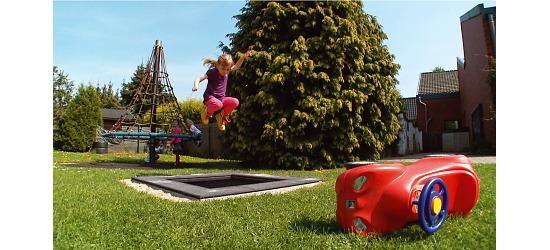 """Eurotramp Kids Tramp """"Playground Mini"""" Sprungtuch eckig"""