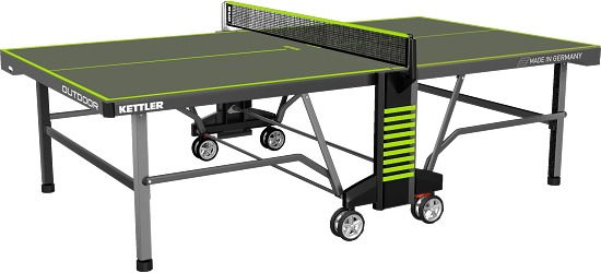 Kettler Tischtennisplatte Umbra/Grün