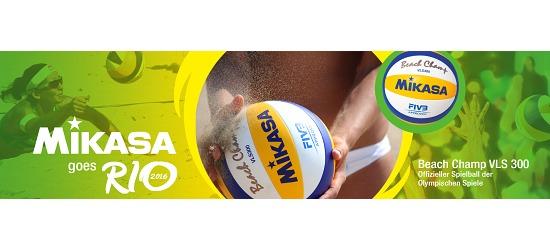 "Mikasa® Beachvolleyball ""Beach Champ VLS 300"""