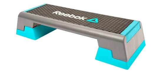 Reebok Step Semi-professionell, Grau-Cyan