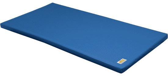 "Reivo Kombi-Turnmatte ""Sicher"" Turnmattenstoff Blau, 150x100x6 cm"