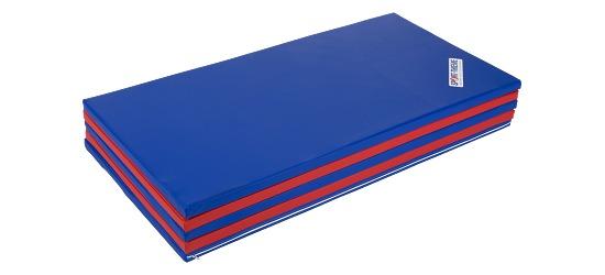 Sport-Thieme Faltmatte 300x120x3 cm, Blau-Rot