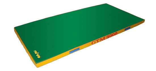 "Sport-Thieme® Geräte-Turnmatte ""GTM 3000"" 200x100x6 cm, 17 kg, Grün"