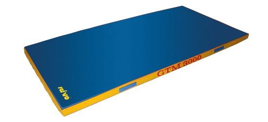 "Sport-Thieme Gerätturnmatte ""GTM 3000"" 200x100x8 cm, 22 kg, Blau"