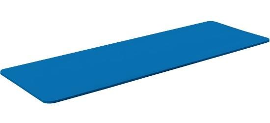 "Sport-Thieme Gymnastikmatte  ""Club 15"" Standard, Blau"