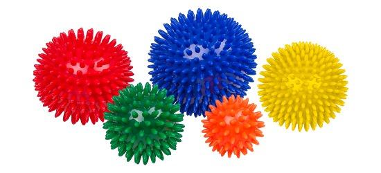 Sport-Thieme® Igelball / Noppenball, weich Orange, ø 5,5 cm