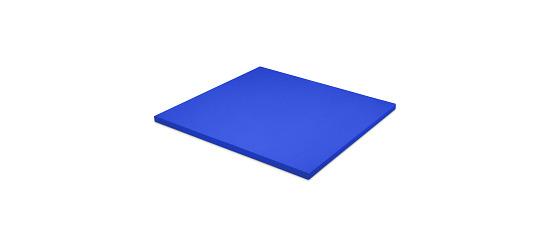 Sport-Thieme Judomatte Tafelgröße ca. 100x100x4 cm, Blau