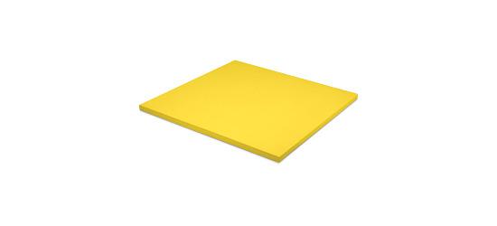 Sport-Thieme Judomatte Tafelgröße ca. 100x100x4 cm, Gelb