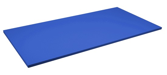 Sport-Thieme Judomatte Tafelgröße ca. 200x100x4 cm, Blau