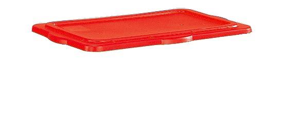 Sport-Thieme Klemmdeckel für Materialbox Rot