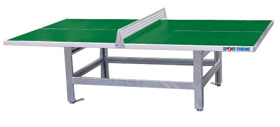 """Sport-Thieme® Polymerbeton-Tischtennisplatte """"Standard"""" Grün"""