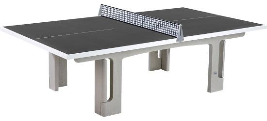 """Sport-Thieme Polymerbeton-Tischtennistisch """"Profi"""" Anthrazit"""