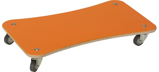 "Sport-Thieme Rollbrett  ""Color-Line"" Orange"
