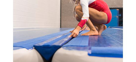 Sport-Thieme TrackConnect by AirTrack Factory Für AirTrack Bahnen mit 10 cm Höhe
