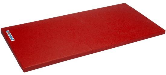 "Sport-Thieme Turnmatte  ""Super"", 200x100x6 cm Basis, Polygrip Rot"