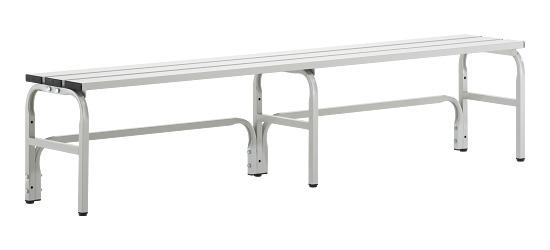 Sypro Wolf® Umkleidebank für Nassräume ohne Lehne 1,50 m, Ohne Schuhrost