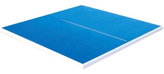 Tischtennis-Plattenhälfte