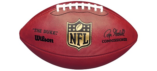 "Wilson Football  Game Ball ""The Duke"""