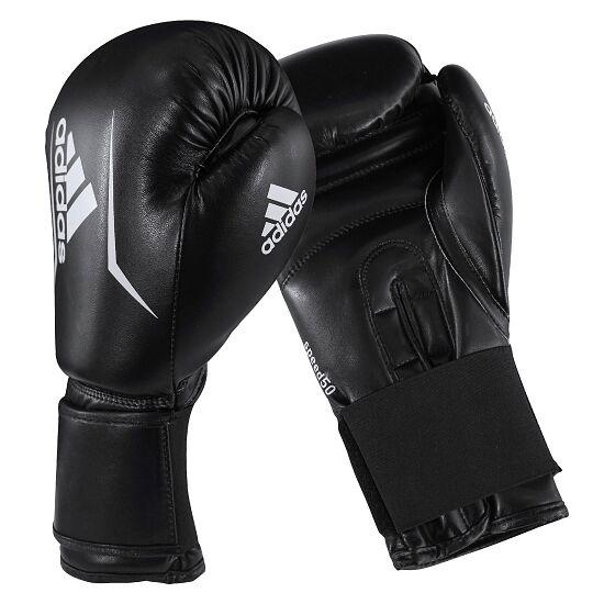 """Adidas Boxhandschuhe  """"Speed 50"""" Schwarz/Weiß, 4 oz."""