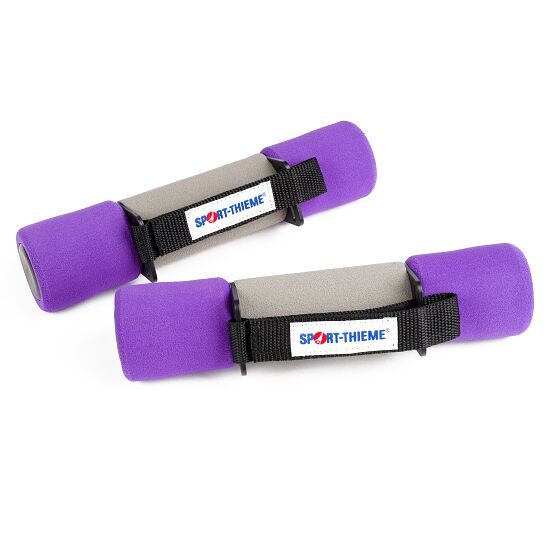 Aerobic Hanteln 2 kg, Violett