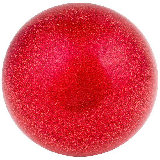 "Amaya Gymnastikball ""Glitzer"" FIG Rot"