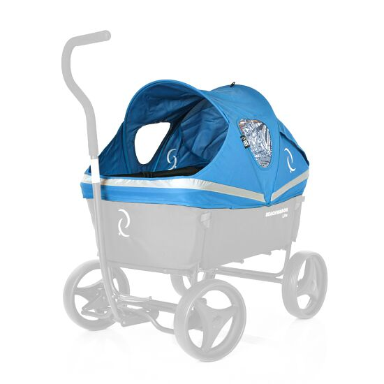 """Beach Wagon Company Verdeck für Bollerwagen """"Lite"""" Blau"""