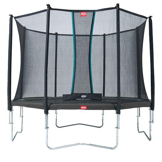"Berg® Trampolin ""Favorit"" mit Sicherheitsnetz Comfort Randbezug Grau, ø 3,30 m"