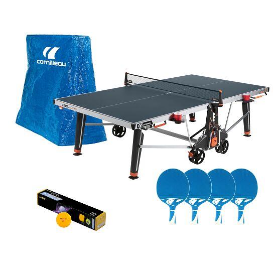 """cornilleau Tischtennis-Outdoor-Set """"500 M Crossover"""" Blau"""