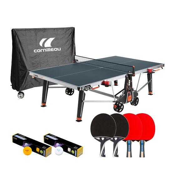 """cornilleau Tischtennisplatte  Premium-Set """"500 M Crossover"""" Blau"""