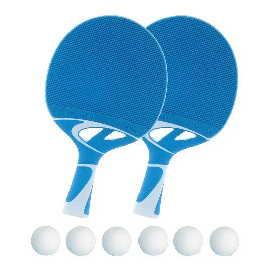 """Cornilleau Tischtennisschläger-Set """"Tacteo 30"""" Bälle Weiß"""