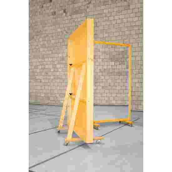 Fahrbare Spiegelwand 400x180 cm Ohne Splitterschutzfolie