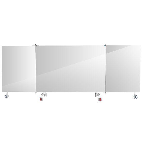 Fahrbarer Kristallspiegel 3-teilig, klappbar, 400x198 cm