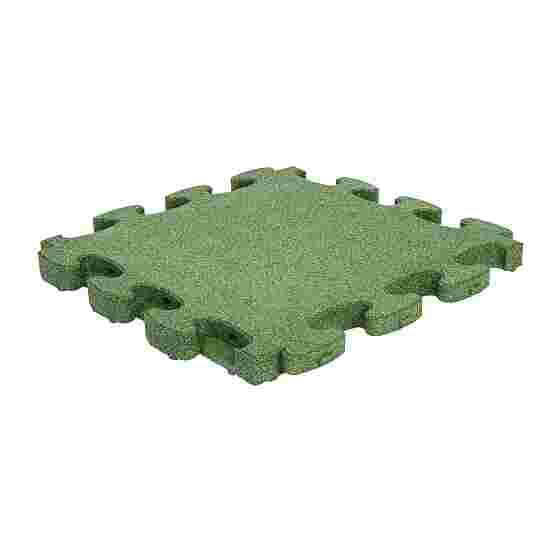 """Gum-Tech Fallschutzplatte """"Puzzle mat 3D"""" 6 cm, Grün"""