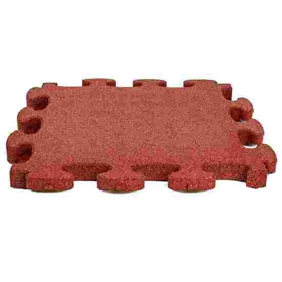 """Gum-Tech Fallschutzplatte """"Puzzle mat 3D"""" 4,5 cm, Rot"""