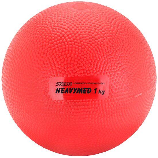 Gymnic Heavymed 1.000 g, ø 12 cm, Rot