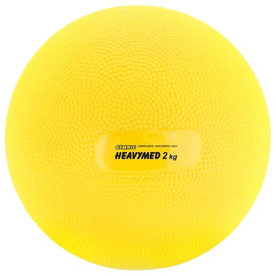 Gymnic Heavymed 2.000 g, ø 15 cm, Gelb