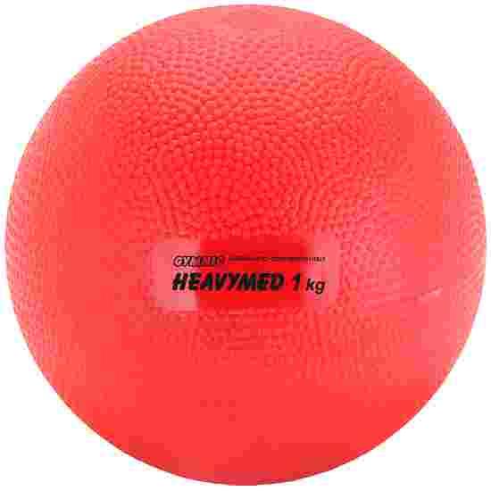 """Gymnic Medizinball  """"Heavymed"""" 1.000 g, ø 12 cm, Rot"""