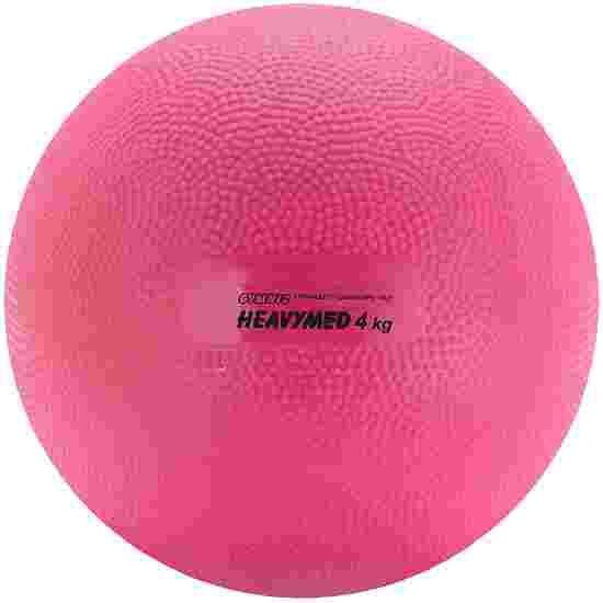 """Gymnic Medizinball  """"Heavymed"""" 4.000 g, ø 20 cm, Magenta"""