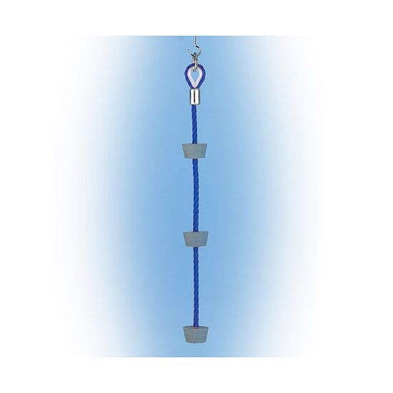 Huck Klettertau Blau