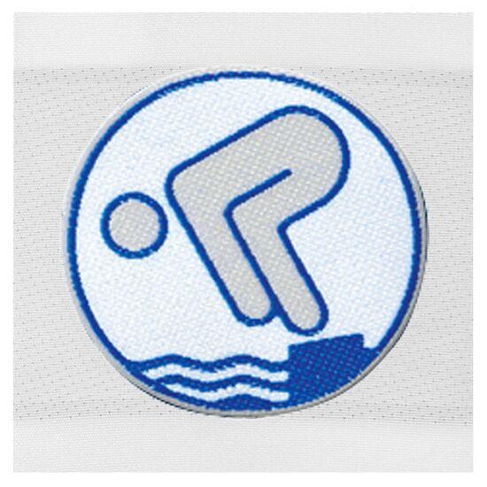 Jugend-Schwimmabzeichen Silber, Zum Aufnähen, quadratisch von Rolle