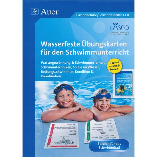 """Kartei """"Wasserfeste Übungskarten Schwimmen"""""""