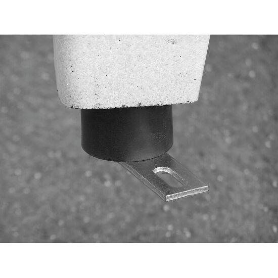 Kickertisch aus Polymer-Beton Grün