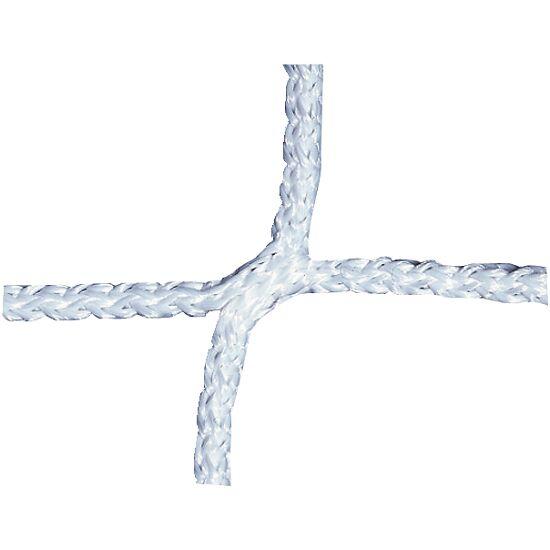 Knotenloses Herrenfußballtornetz 750x250 cm Weiß
