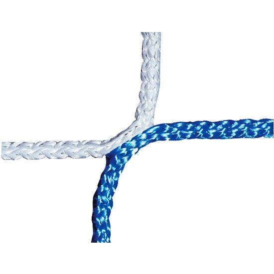 Knotenloses Jugenfußballtornetz 515x205 cm Blau-Weiß